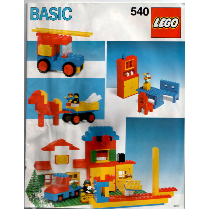 LEGO Basic Building Set 5 540 1 Instructions