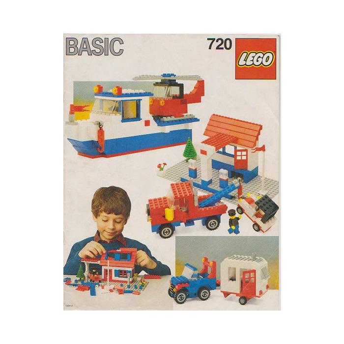 Lego Basic Building Set 7 Set 720 1 Instructions Brick Owl