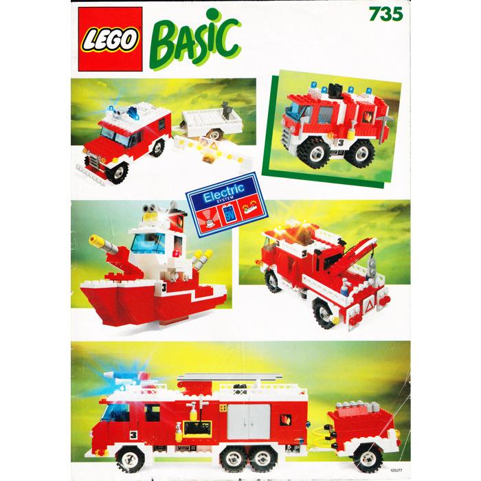 Lego Basic Building Set 7 Set 735 Instructions Brick Owl Lego