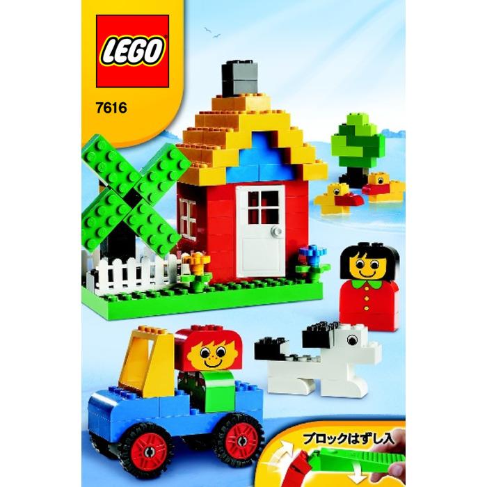 Lego Basic Red Bucket Set 7616 Instructions Brick Owl Lego