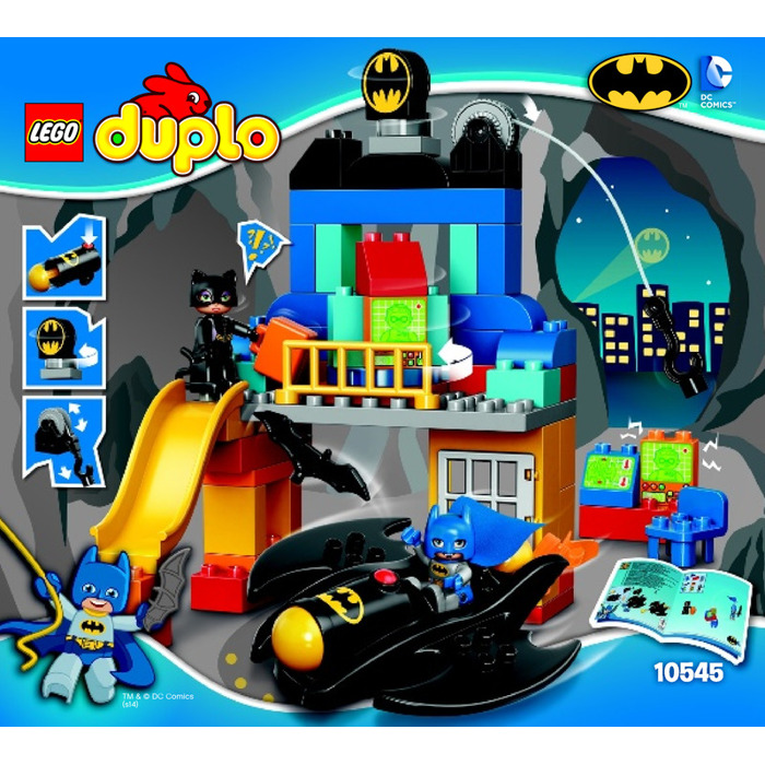 LEGO Batcave Adventure Set 10545 Instructions | Brick Owl - LEGO ...