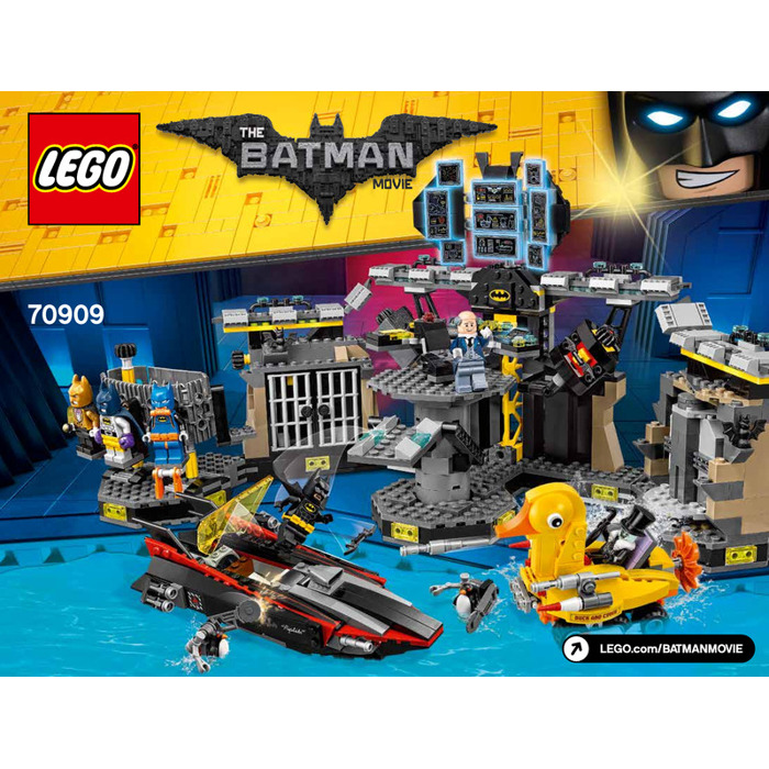 LEGO Batcave Break-In Set 70909 Instructions | Brick Owl - LEGO ...