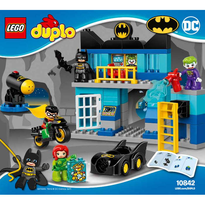 LEGO Batcave Challenge Set 10842 Instructions | Brick Owl - LEGO ...