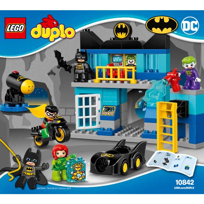 batman duplo lego instructions