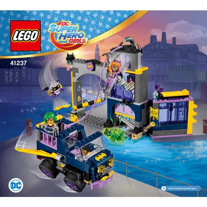 Lego Batgirl Secret Bunker Set 41237 Instructions Brick Owl Lego Marketplace