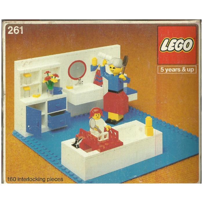 LEGO Bathroom Set 261 1