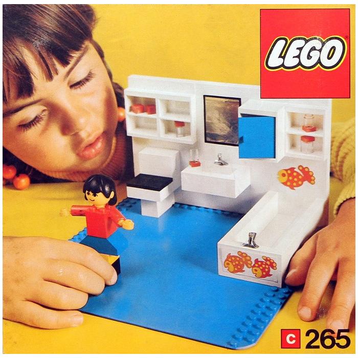 Superbe LEGO Bathroom Set 265
