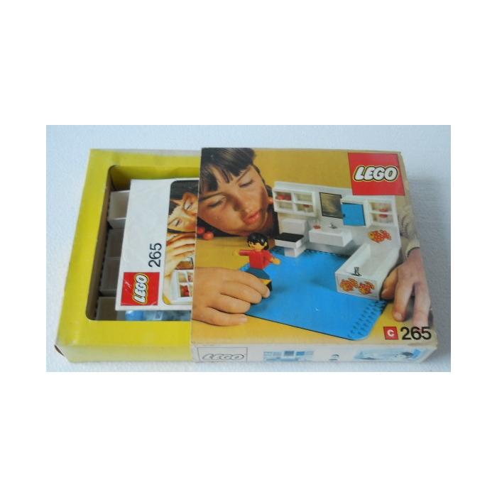 LEGO Bathroom Set 265 Packaging