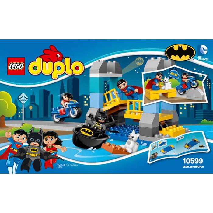 LEGO Batman Adventure Set 10599 Instructions | Brick Owl ...