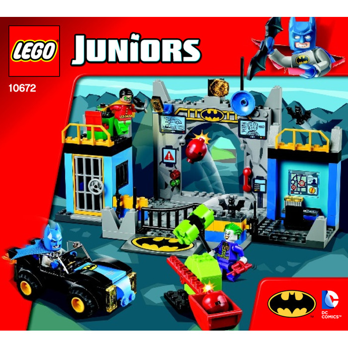 LEGO Batman – Batcave Set 10672 Instructions | Brick Owl - LEGO ...
