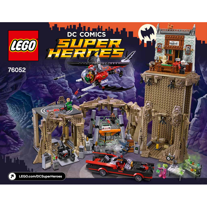 LEGO Batman Classic TV Series - Batcave Set 76052 Instructions ...