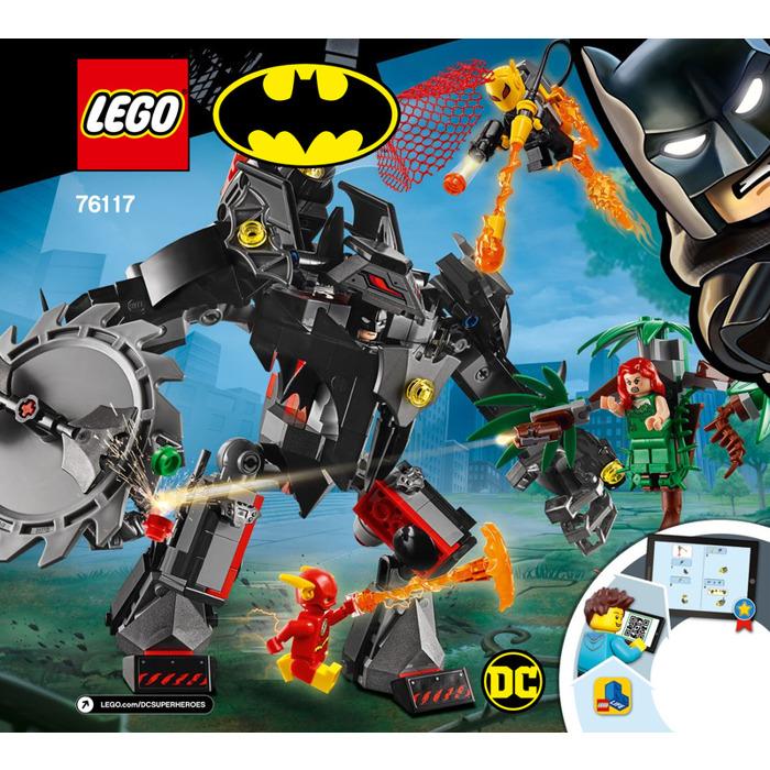 LEGO Batman Mech vs  Poison Ivy Mech Set 76117 Instructions