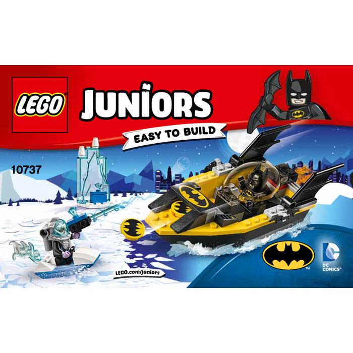 LEGO Batman vs. Mr. Freeze Set 10737 Instructions | Brick Owl - LEGO ...