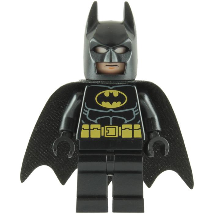 LEGO Batman with Black Suit Minifigure (Original Cowl ...