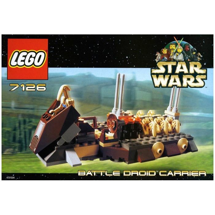 Lego Battle Droid Carrier Set 7126 Brick Owl Lego Marketplace