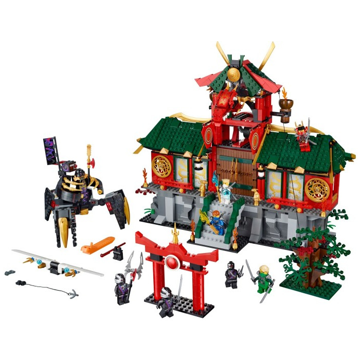 Lego battle for ninjago city set 70728 brick owl lego marketplace - Lego ninjago 6 ...