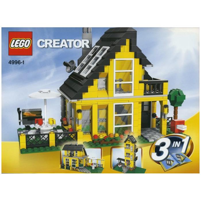 lego beach house set 4996