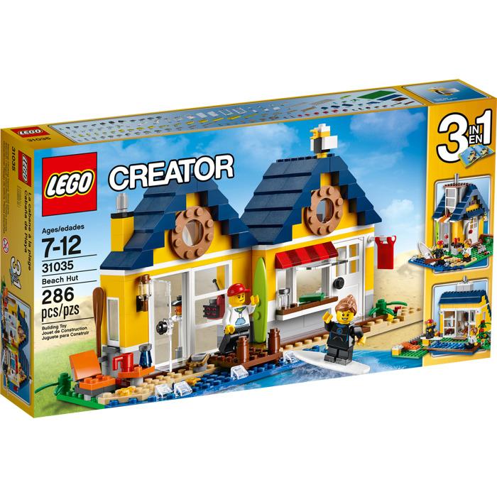 lego beach hut set 31035 brick owl lego marketplace. Black Bedroom Furniture Sets. Home Design Ideas
