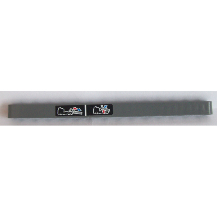 LEGO® Technic Dark Gray Beam 1 X 15 Design ID 32278