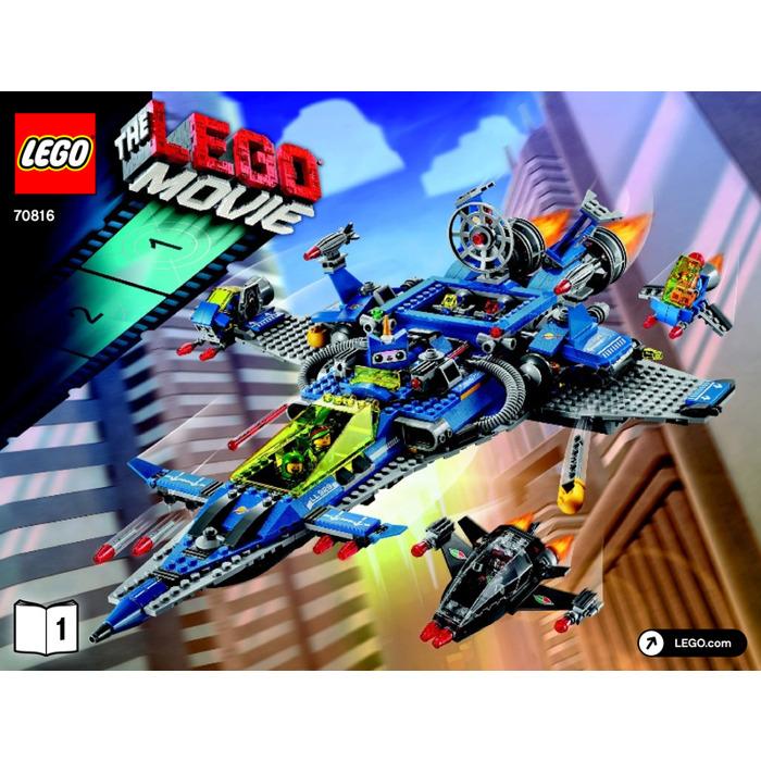 Lego Bennys Spaceship Set 70816 Instructions Brick Owl Lego