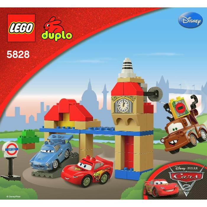 Lego Big Bentley Set 5828 Instructions Brick Owl Lego Marketplace