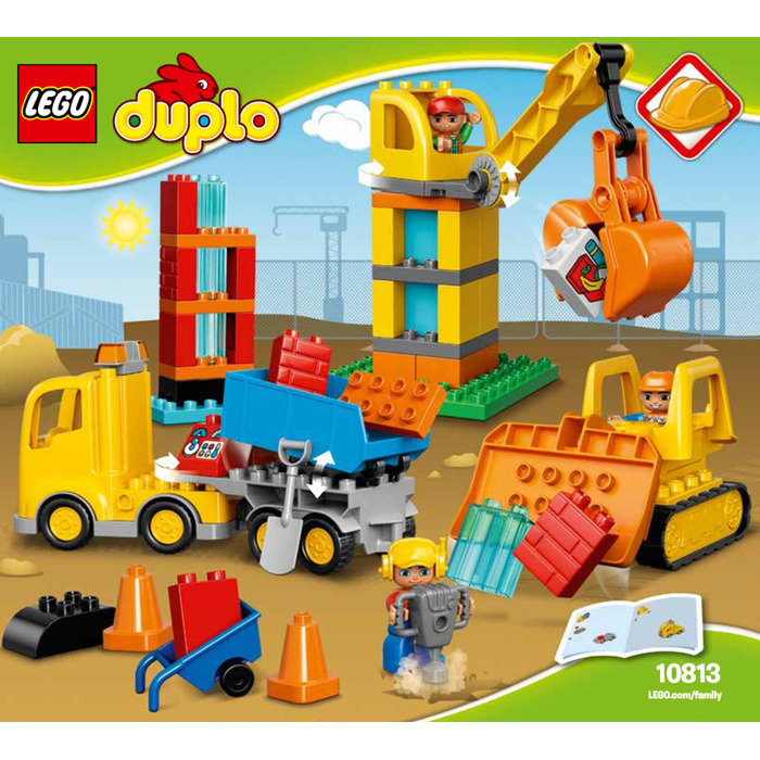Lego Big Construction Site Set 10813 Instructions Brick Owl Lego