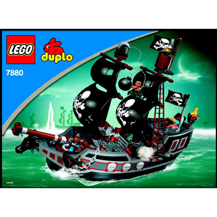 Lego Big Pirate Ship Set 7880 Instructions Brick Owl Lego