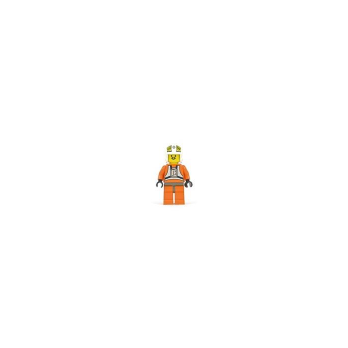 Lego Minifig Star Wars ~ Luke Skywalker X-Wing Pilot 7130 7140 Hoth Rebel