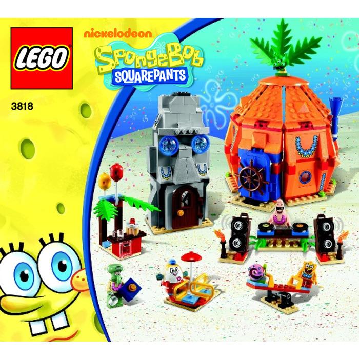 Lego Bikini Bottom Undersea Party Set 3818 Instructions Brick Owl