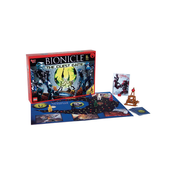 Lego Bionicle The Quest Game G1754 Brick Owl Lego Marketplace