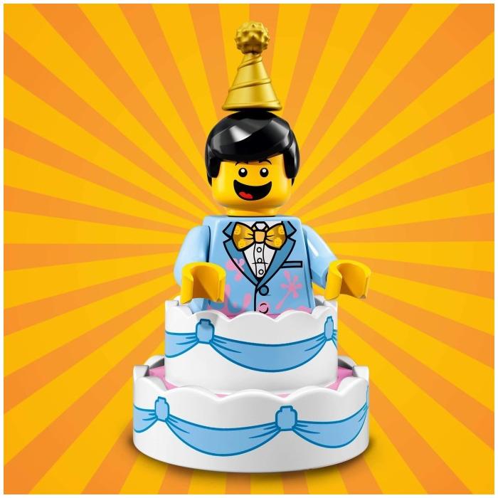 1 LEGO Birthday Cake Guy Set 71021 10