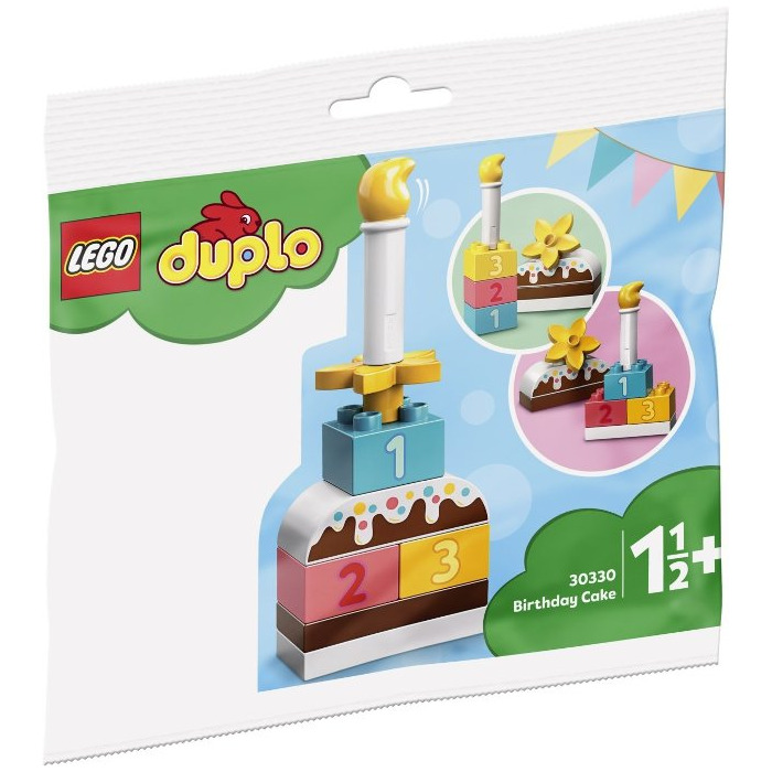 Incredible Lego Birthday Cake Set 30330 Brick Owl Lego Marketplace Funny Birthday Cards Online Sheoxdamsfinfo