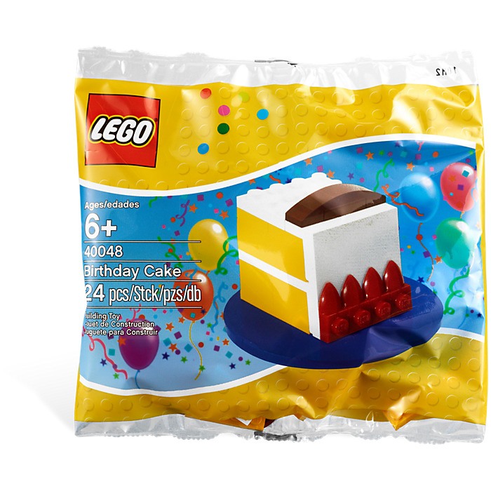 LEGO Birthday Cake Set 40048 1 Packaging