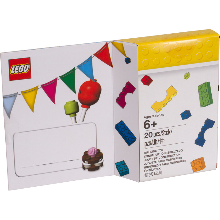 Lego Birthday Card 5004931 Brick Owl Lego Marketplace