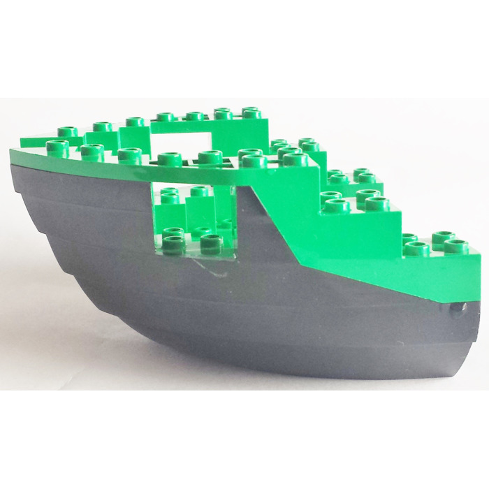 LEGO Black Boat Bow 12 x 12 x 5 & 1/3 Hull Inside Assembly | Brick ...