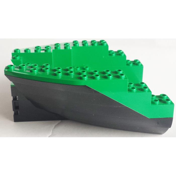 LEGO Black Boat Stern 12 x 14 x 5 & 1/3 Hull Inside Assembly | Brick ...