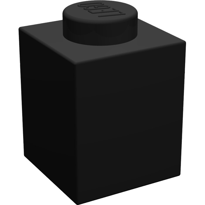 LEGO® Black Brick 1 x 1 Design ID 3005