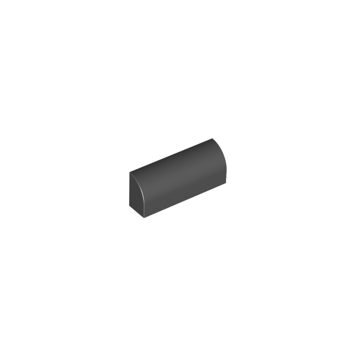 Lego 2x Brique Brick Modified 1x4x1 1//3 Curved Top gris//light b gray 6191 NEUF