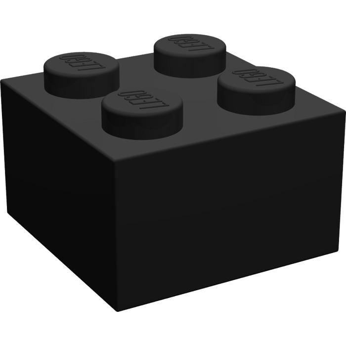 6 x LEGO 3003 Brique NEUF NEW rouge foncé Brick 2x2 dark red