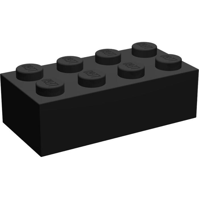 Brick 2x3 Lego 3002-6x Briques Black Noir New Neuf