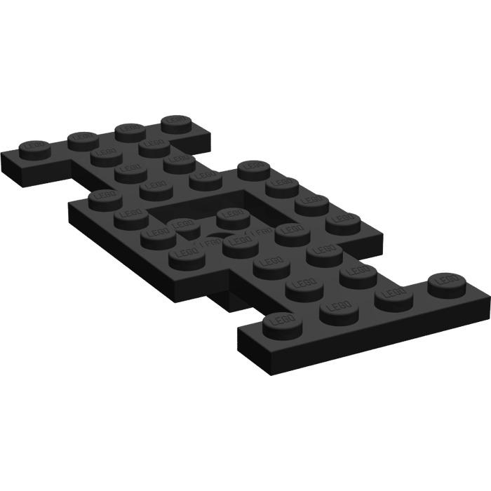 LEGO Vrac Véhicule noir base 5 x 10 x 2 1//2 Black vehicule base  Neuf