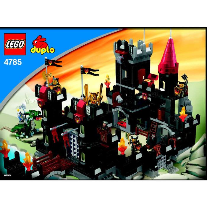 Lego Black Castle Set 4785 Instructions Brick Owl Lego Marketplace