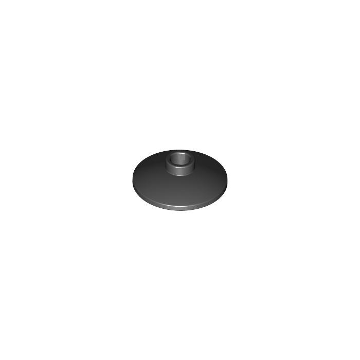 QTY 5 No 4740 Black Dish 2 x 2 Inverted Radar LEGO Parts