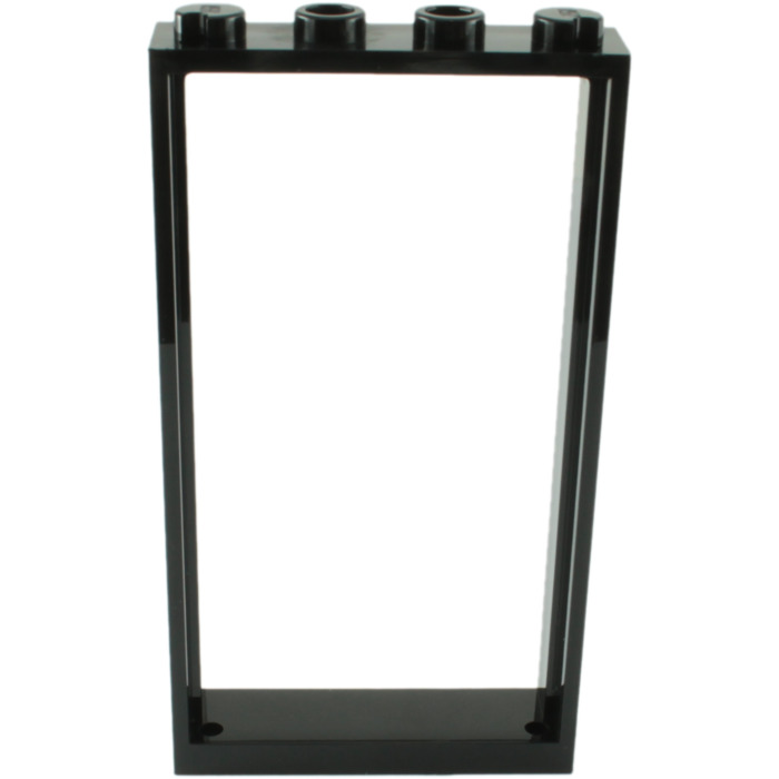 LEGO Black Door Frame 1 x 4 x 6 Single Sided (60596) | Brick Owl ...