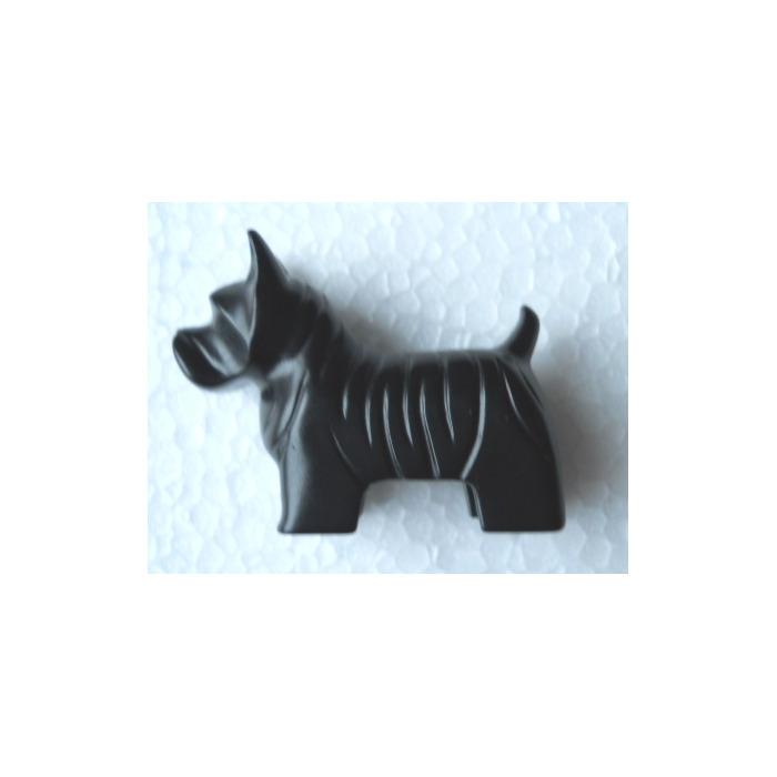 Stock Images Scotty Dog Black