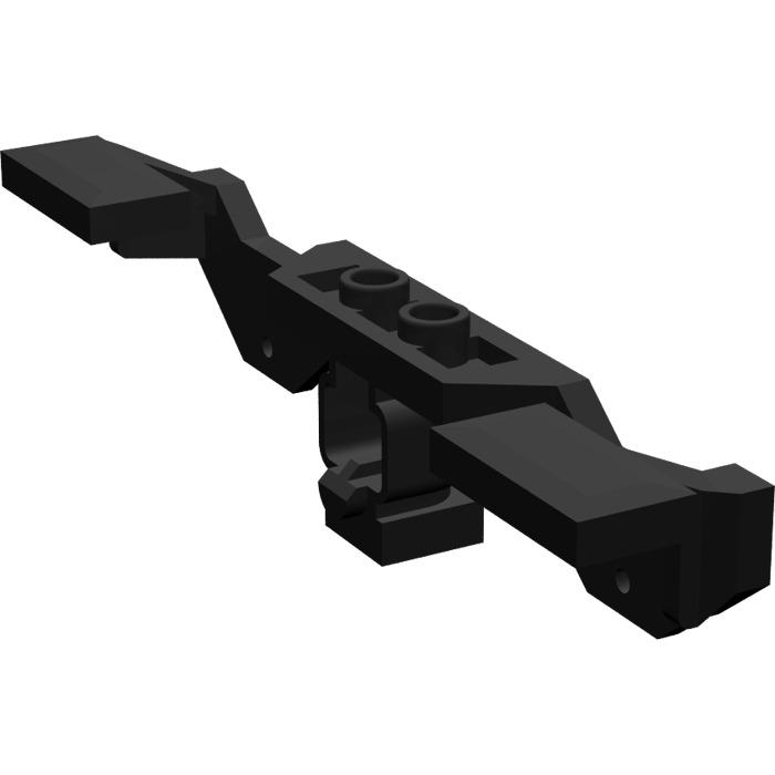 Lego Black Electric Train Motor 9v Decorative Side 2871