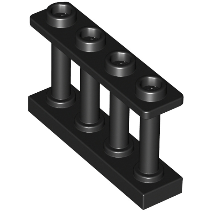 Lego 15332 Fence 1 x 4 x 2 Spindled with 4 Studs Choose Colour NEW