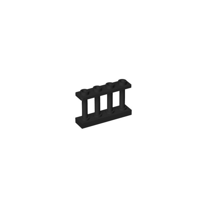 Lego 3x Fence Balustrade Moc Sand Green NEW wie19121 15332 3055