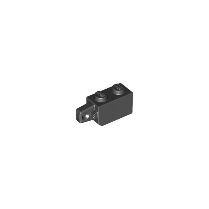 LEGO 30364 @@ Hinge Brick 1 Finger Vertical End  Black x 2-7153 7180 7751 7964