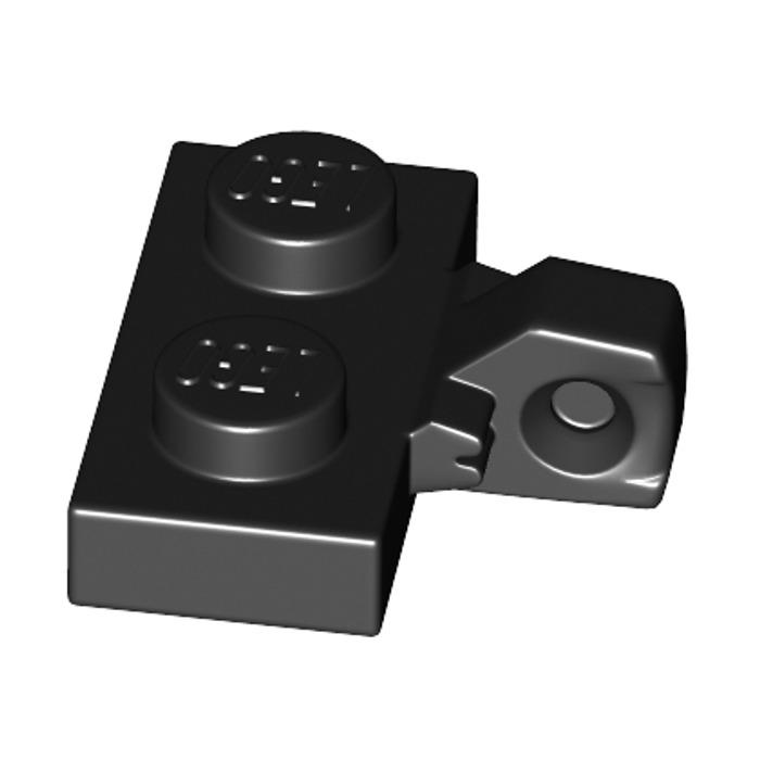 Lego 6x Charnière hinge plate plaque 1x2 locking noir//black 44567 44567b NEUF